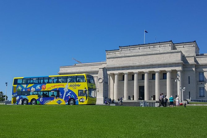 Auckland Explorer Shore Excursion: Hop-On Hop-Off Bus Tour