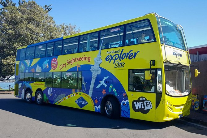 Auckland Explorer: Hop-on Hop-off Tour Including Free Ferry