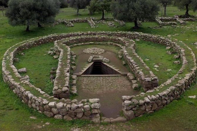 Cagliari Shore Excursion: Well Temple Archeo Tour