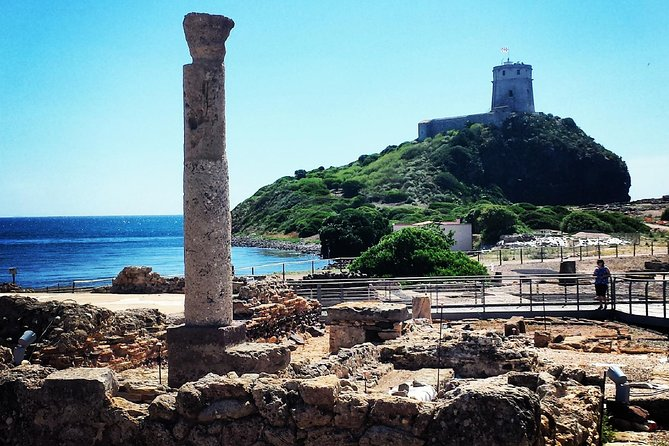 Cagliari Shore Excursion: Archaeological Nuraghe and Nora Tour