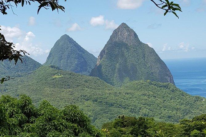St Lucia Majestic Piton Views