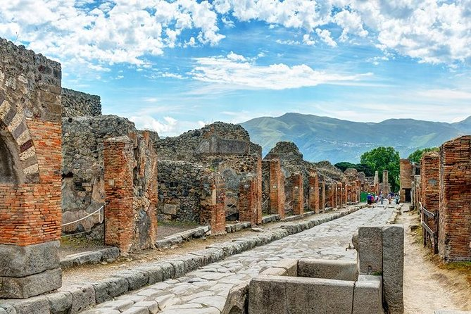 Private 4-Hour Excursion to Pompeii from Naples Cruise Port or Hotel pick-up