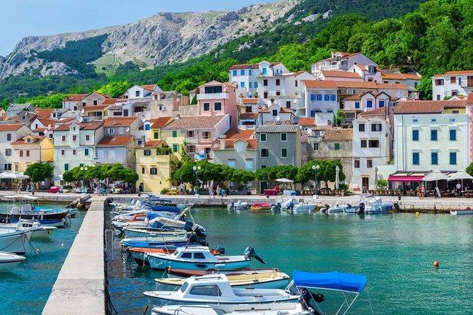 Golden Island of Krk from Rijeka