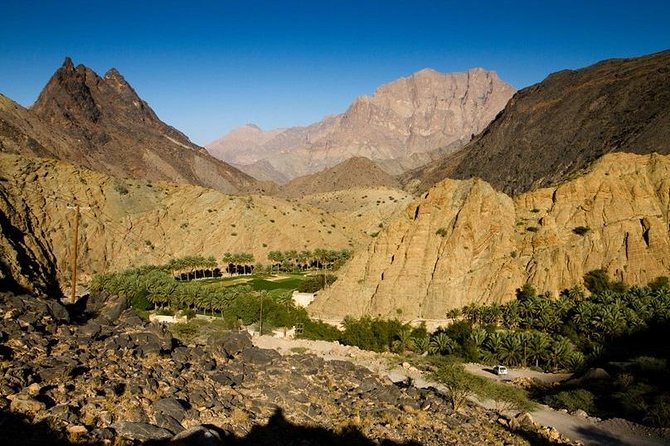 Jebel Akhdar Cool and Green (Muscat tours):Oman Shore excursions
