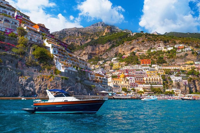 Small-Group Positano and Amalfi Boat Tour from Naples