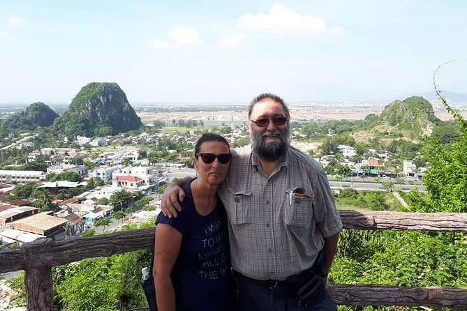 Marble Mountain & Monkey Mountains Private Tour From Da Nang or Hoi An city