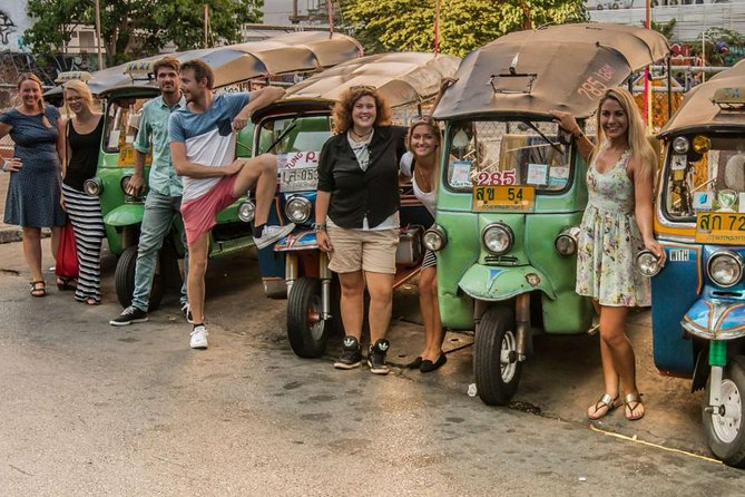 Rickshaw Adventure Tour from Bangkok: Green Lung Jungle Exploration