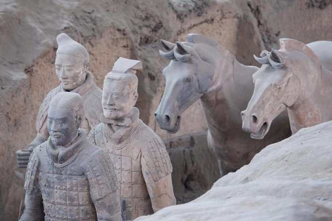 Private Xian Highlight Tour: 6 Hours Terracotta Warriors and Local Snack photo 6