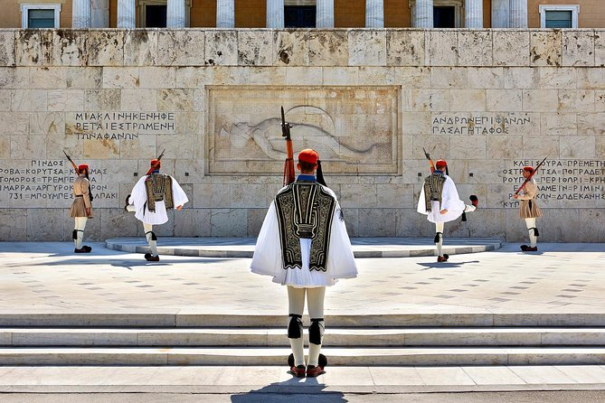 Athens historical city half day private tour