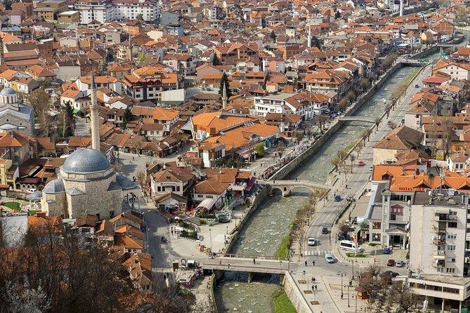 Transfer Skopje to Tirana with Half Day Tour of Prizren, Kosovo