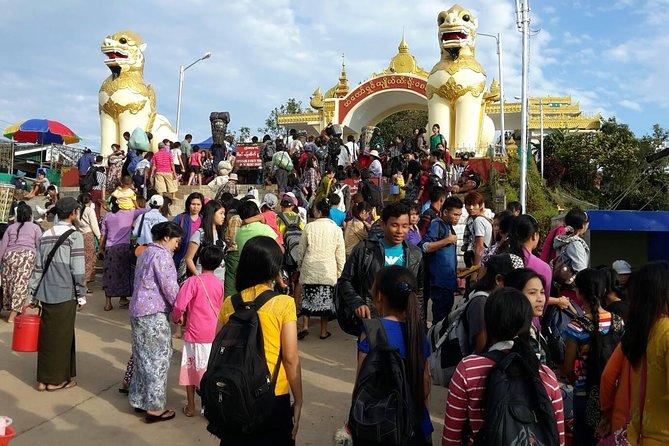 Kyaiktiyo Pagoda Private Day Tour from Yangon