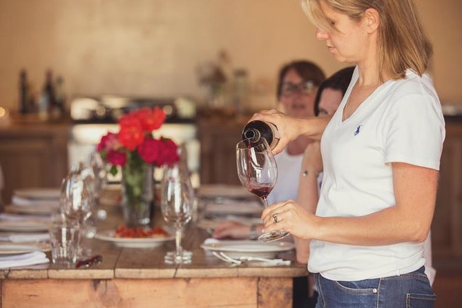Wine and food experience on organic winery IL PALAGIO di Panzano