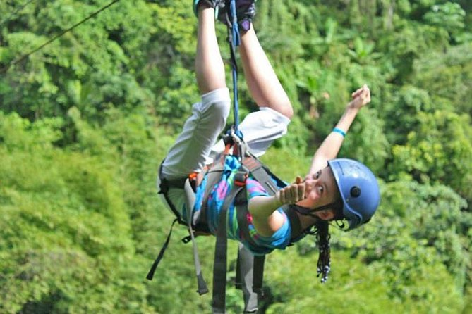 Zip Lines Samana and Limon Waterfall