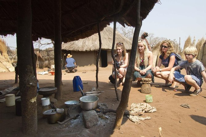 Guided Falls Tour, African Village Tour & Night Game Driver with Bush dinner photo 4