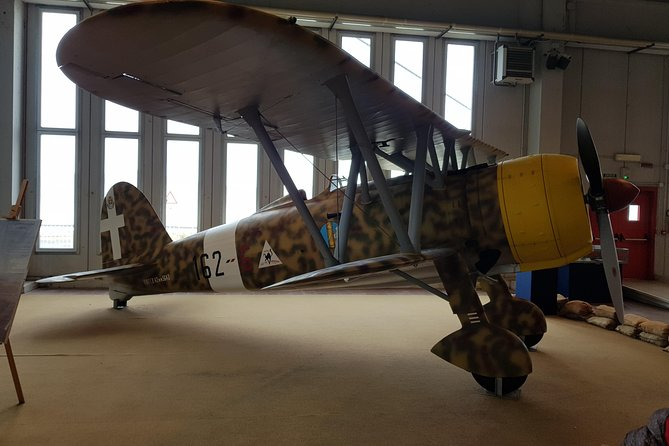 Aircraft Historical Museum From Civitavecchia
