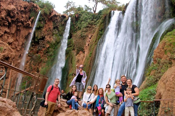 Tour of Ouzoud Waterfalls Private Day Trip From Marrakech