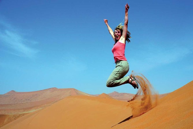 Morning Desert Safari with Sand boarding and Camel Ride photo 21