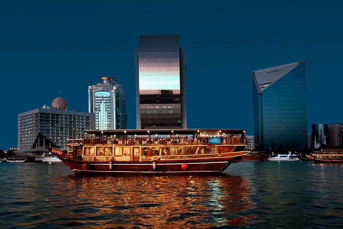 Red Dune Desert Safari with Dinner, Dubai City Tour & Dhow Cruise Dinner - TRIO