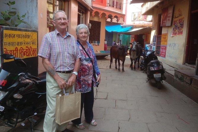 Varanasi Heritage Walking Tour & Evening Boat Ride (Aarti ceremony & Cremations)