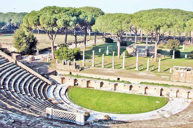 All-included Guided Tour of Ancient Ostia from Rome with Hotel Pickup & Drop Off