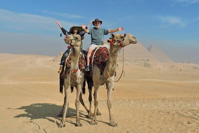 Exclusive & Private Full Day Trip to The Pyramids of Giza & The Egyptian Museum
