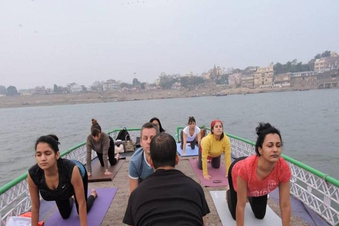 Private Morning Guided Boat Ride with Yoga and Transfer