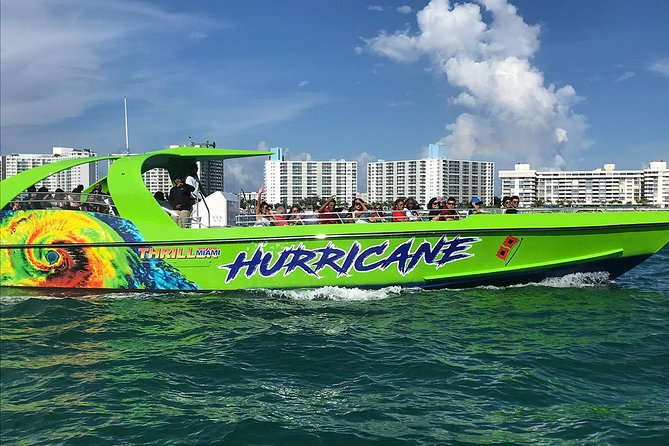 Thriller Speed Boat Miami y Millionaire Row