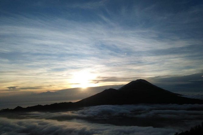 Mount Batur Volcano - Sunrise Trekking with Natural Hot Spring