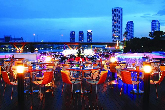 Grand Pearl - Luxury Dinner Cruise Experience at Bangkok with Return Transfer