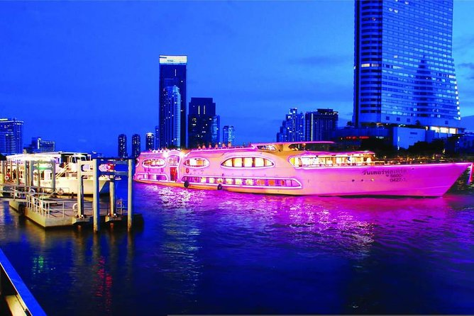 Grand Pearl : Luxury Dinner Cruise from Bangkok with Transfer