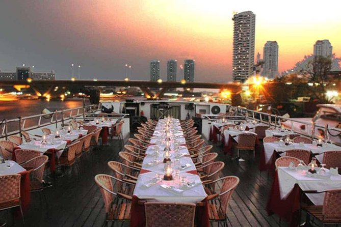 Grand Pearl : Luxury Dinner Cruise from Bangkok with Transfer photo 17