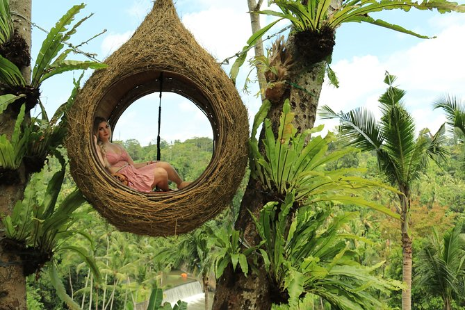 Bali Swing with Relaxation Time at Halo Bali Spa