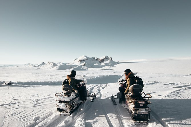 Golden Circle Super-Jeep Tour and Snowmobiling