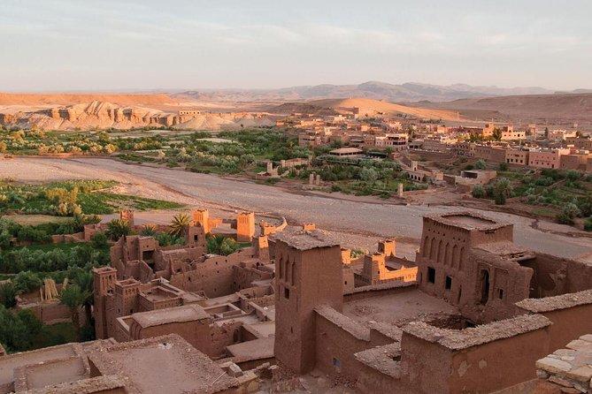 Monuments of Ouarzazate et Kasbah ait ben haddou