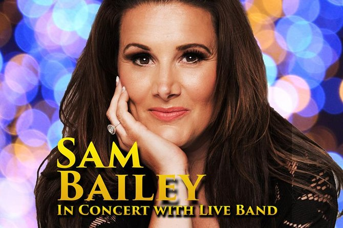 Sam Bailey - In concert with her Live Band
