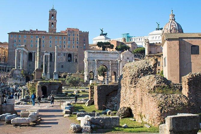 Archäologische Tour von PhD Guide Donato mit Kolosseum, Forum Romanum und Palatin
