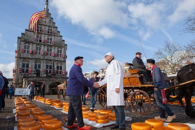Half day cheese market tour to Gouda or Alkmaar from Amsterdam
