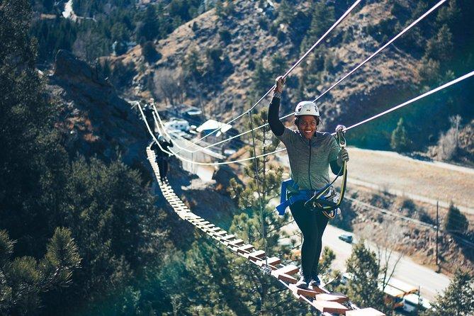 Experiencia de escalada en la vía ferrata del monte Evans en Idaho Springs