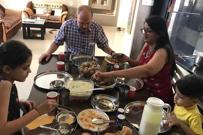 Homemade Gujarati Thali: Cook and Dine with a local in Ahmedabad