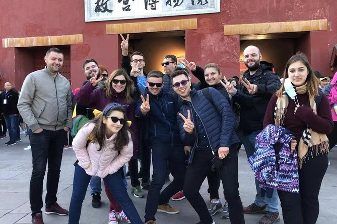 Private Beijing Layover Tour to Mutianyu Great Wall and Forbidden City
