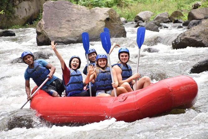 White Water Rafting Ubud Activities