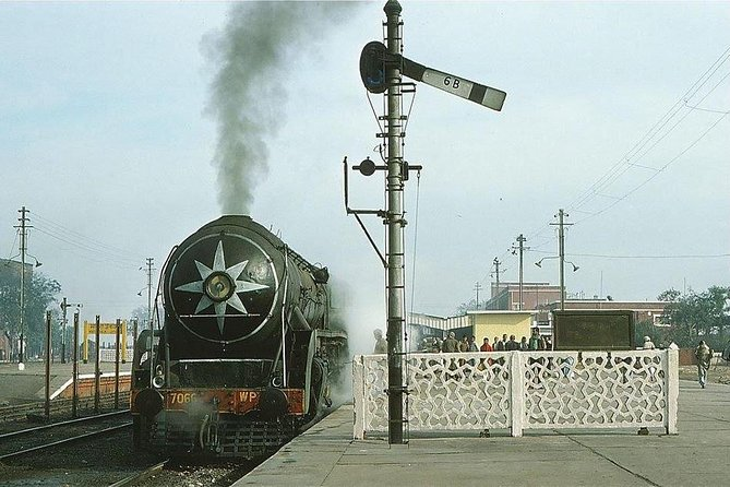 Steam Engines And Railway Museum In Rewari From Delhi With Lunch