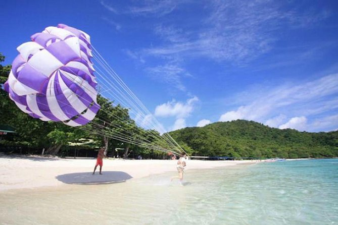 Coral Island Half-day Trip from Pattaya with Lunch & stop over for Parasailing