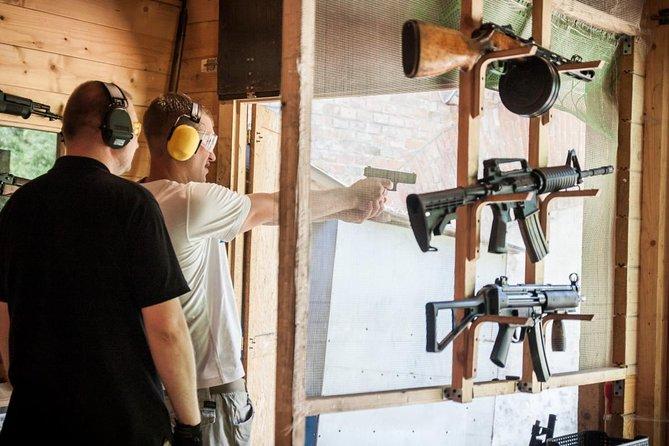Cracovia: campo de tiro con armas reales
