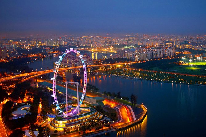 7a - Singapore Flyer And Gardens By The Bay Double Domes Package