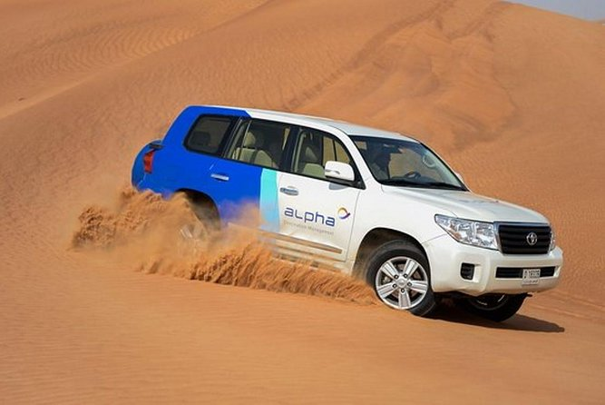 Desert Safari Experience From Sharjah