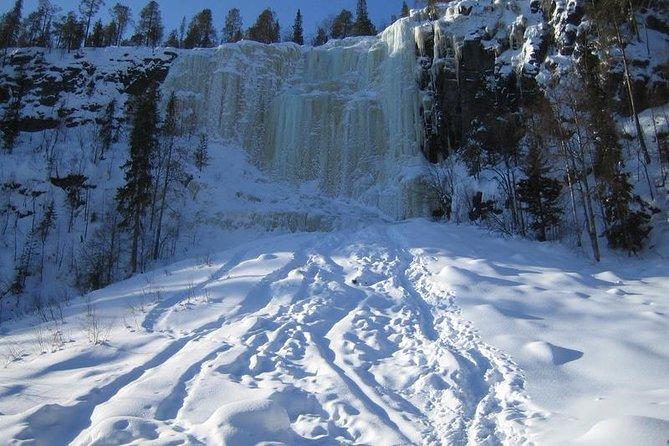 Frozen Waterfalls of Korouoma