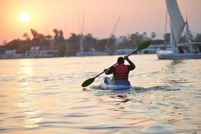 Kayaking on the Nile Luxor