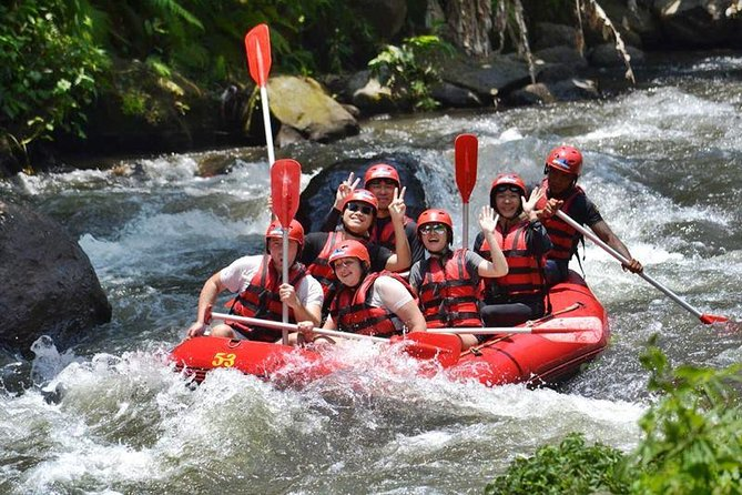 Bali Full-Day Package: Ayung River Rafting with Kintamani Volcano tour