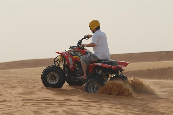 4x4 ATV Quad Biking 01 hour Dubai Desert, ATV Quad bike Desert excursion Dubai